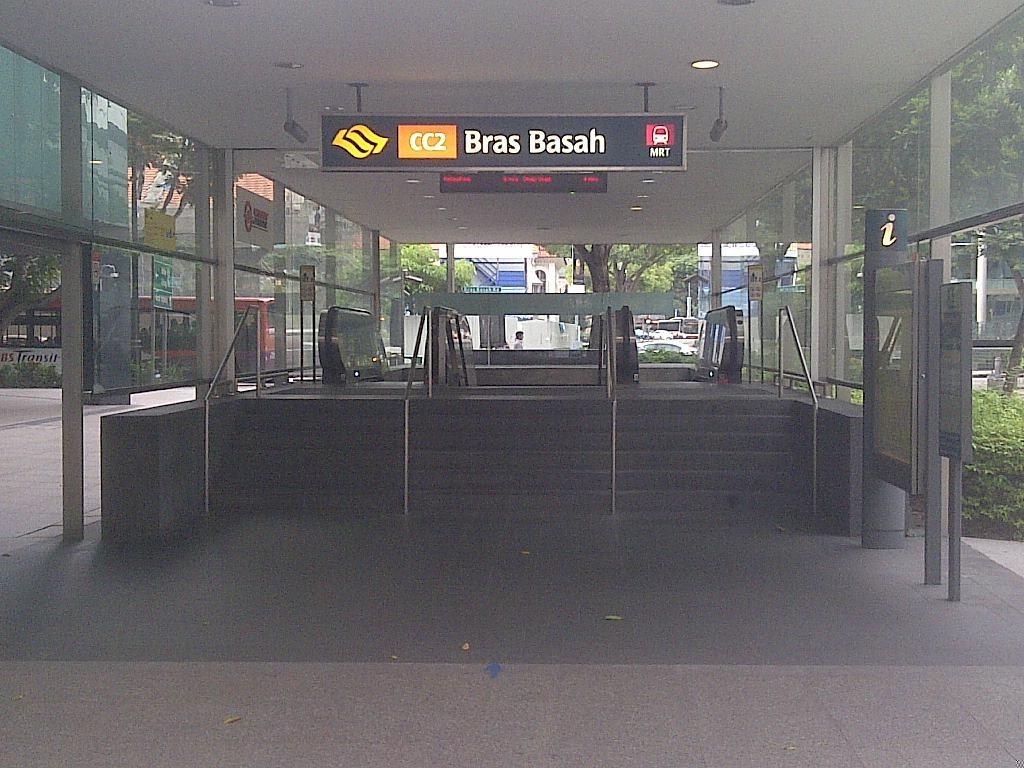 MRT Station Bras Basah Singapur (c) 2015 Thilo Goetze