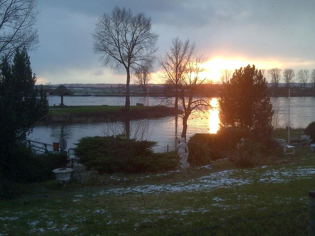Sonnenuntergang in Niederkassel