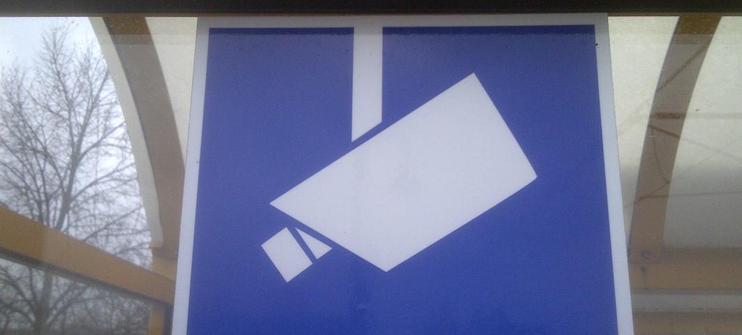 Symbol für Videoüberwachung