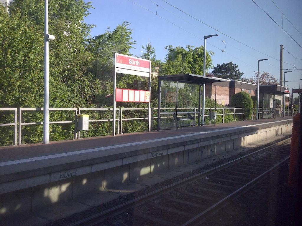 Bahnhof Suerth am Brueckentag © Landesblog NRW
