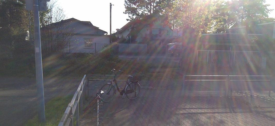 Fahrradstaender am Bahnhof am Brueckentag © 2016 Landesblog NRW