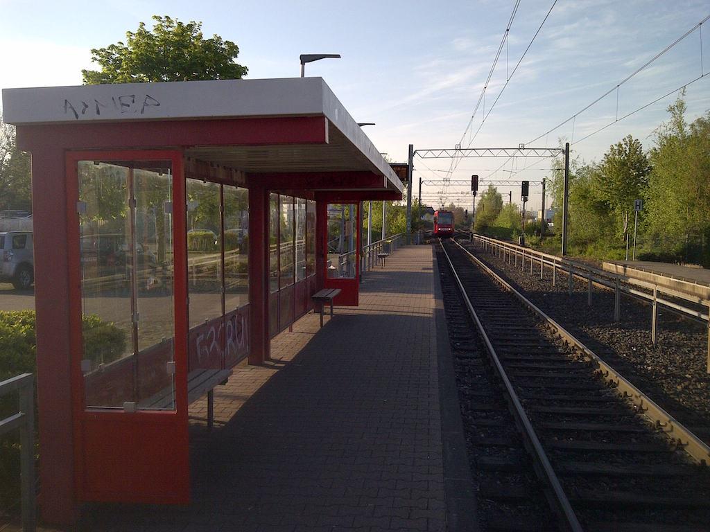 Puenktliche Bahn am Brueckentag © Landesblog NRW