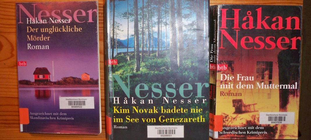 Buecher von Hakan Nesser fuer die Bahn