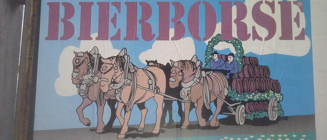 Plakat Bierboerse 2016 in Duesseldorf