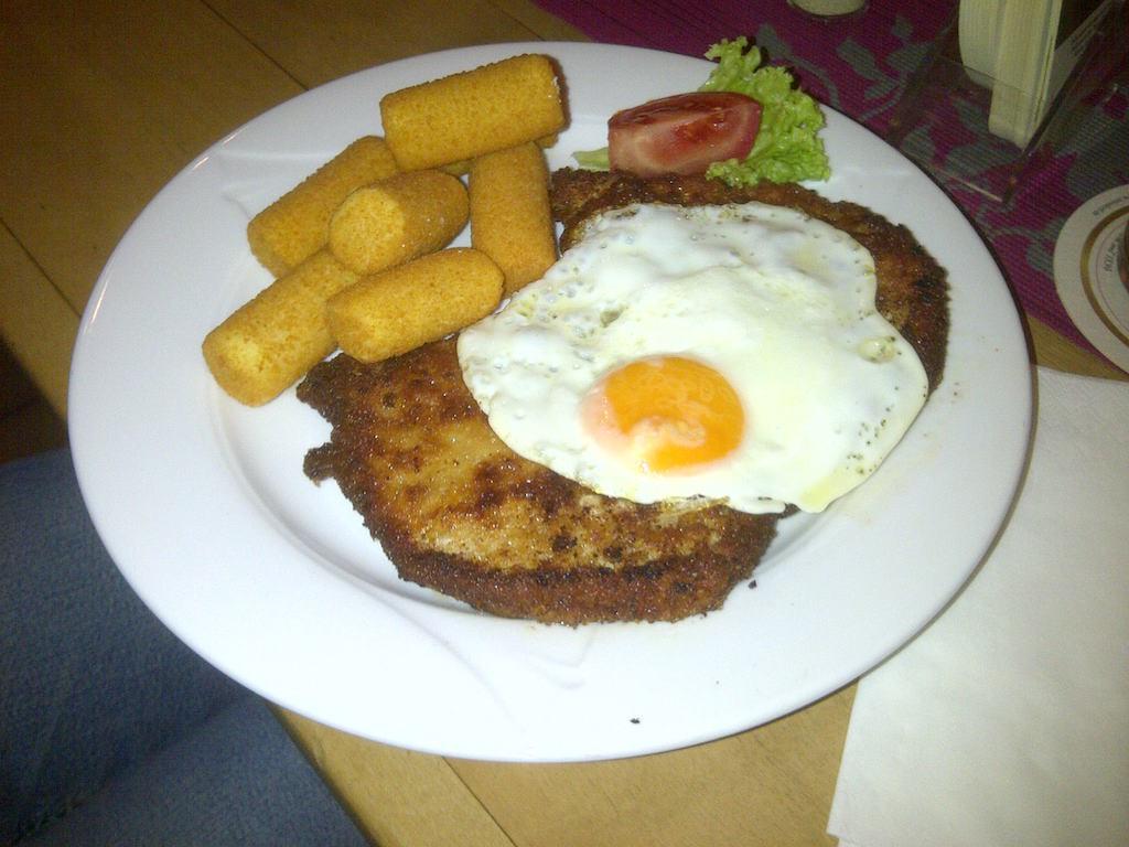Essen im Gasthof Prinzenhof Hersel