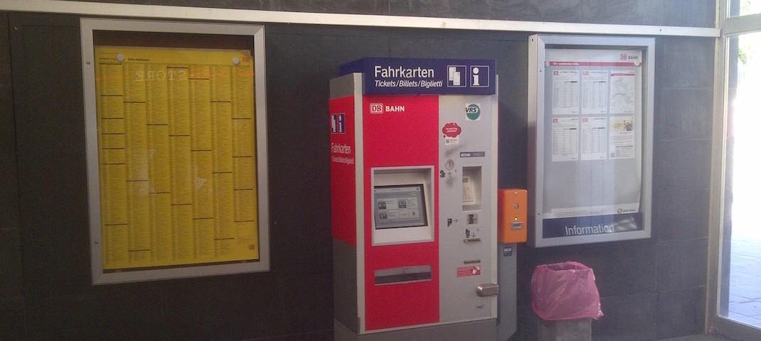 Fahrkartenautomat Köln-Mülheim