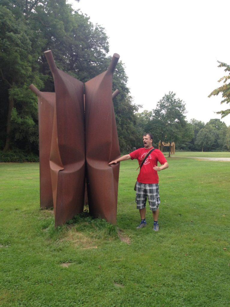 Skulpturen Schlosspark Moyland