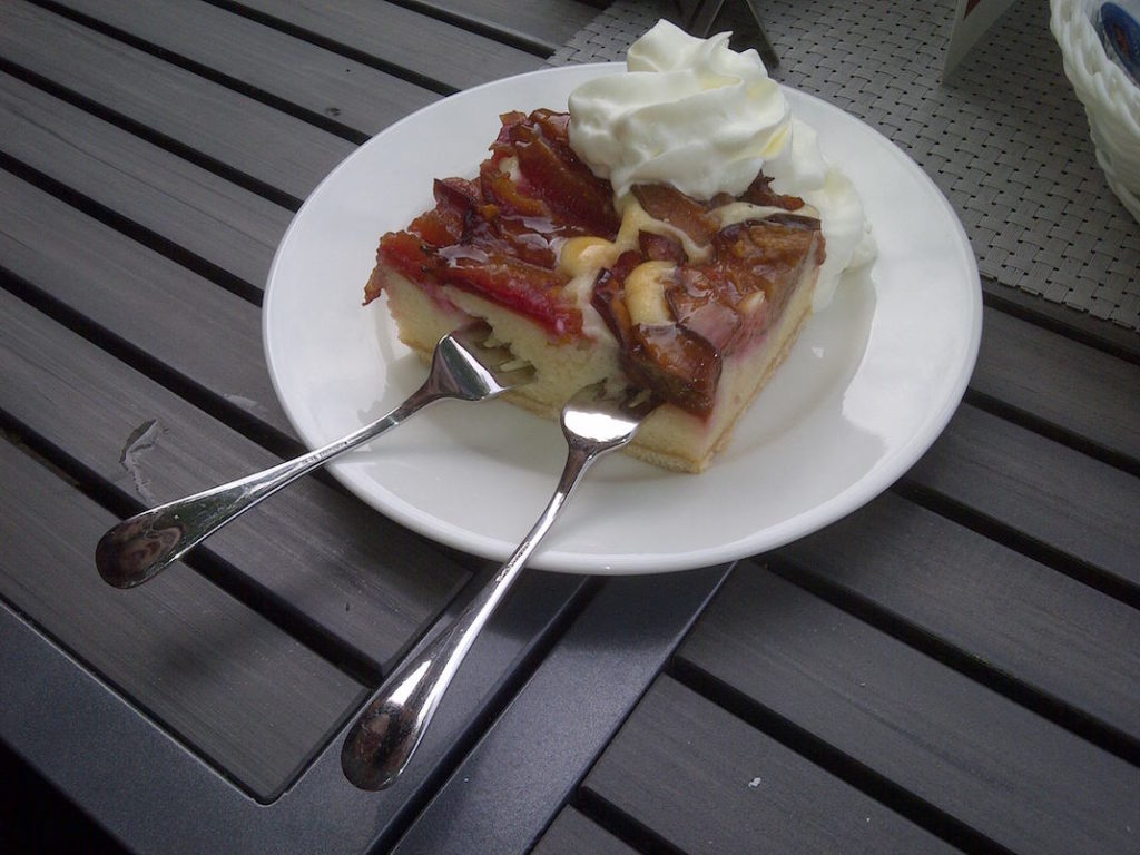 Zwetschgenkuchen Schloss Moyland