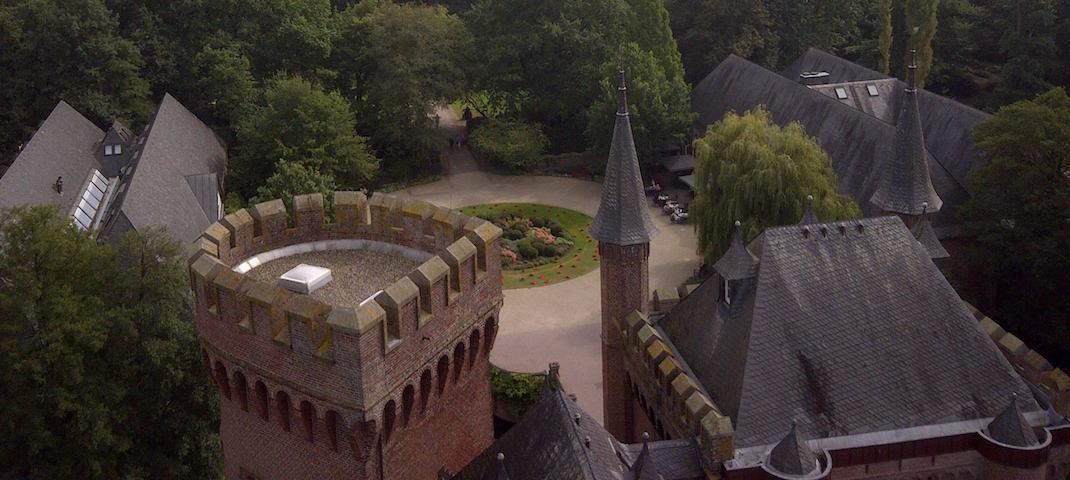 Schloss Moyland Draufsicht