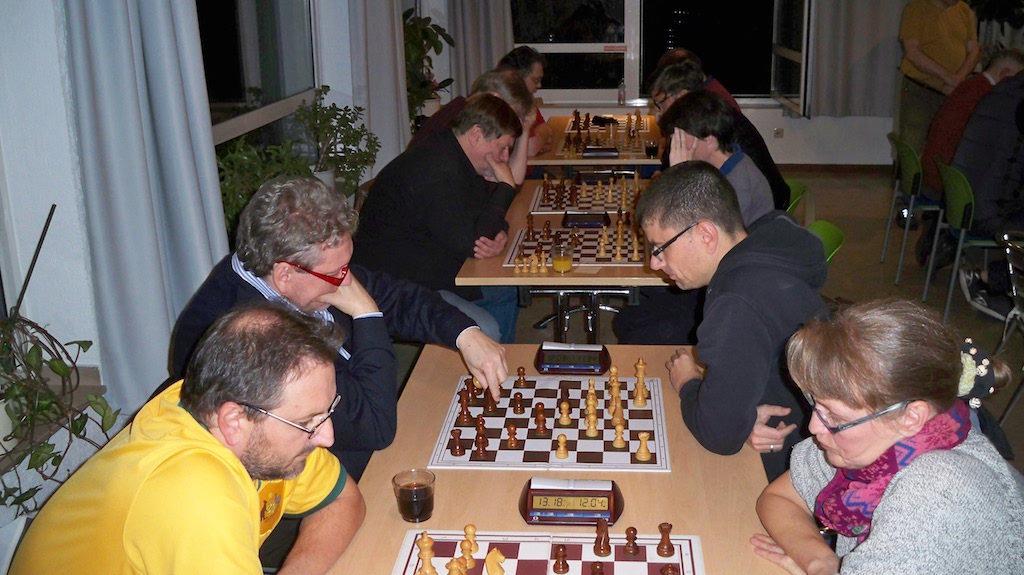 Letzte Runde Stadtmeisterschaften im Schach in Erkrath 2016
