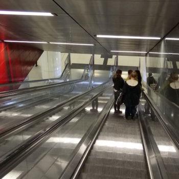 Rolltreppe Heinrich-Heine-Allee