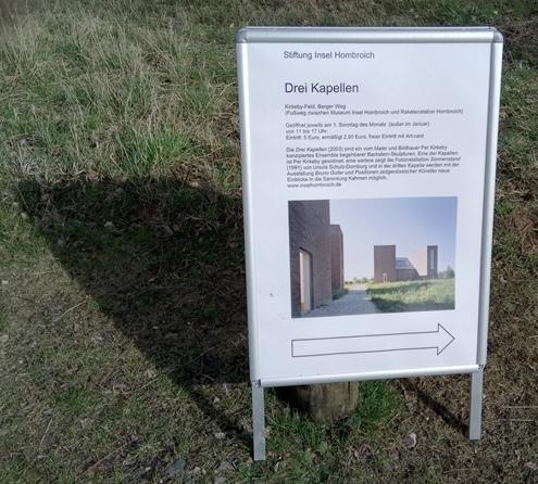 Infoschild zum Kirkebyfeld