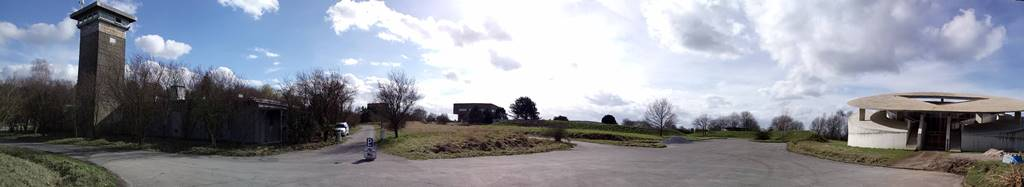 Innenhof Raketenstation Hombroich