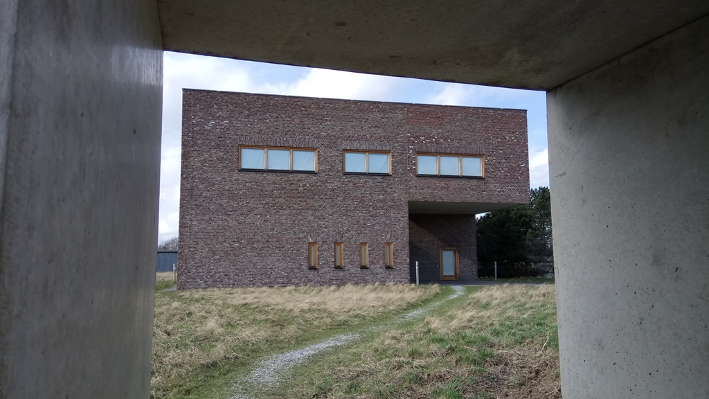 Der Siza Pavillon der Raketenstation in Neuss
