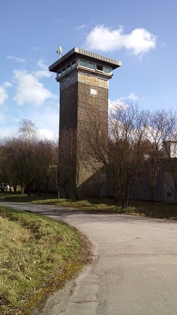 Turm in Raketenstation Hombroich