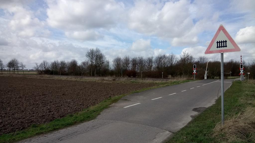 Anfahrt zur Raketenstation Hombroich