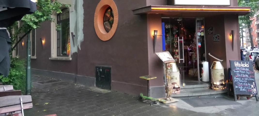 Außenansicht Capetown Düsseldorf