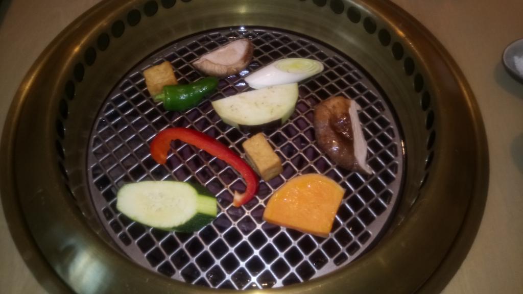 Gemüse auf Grill