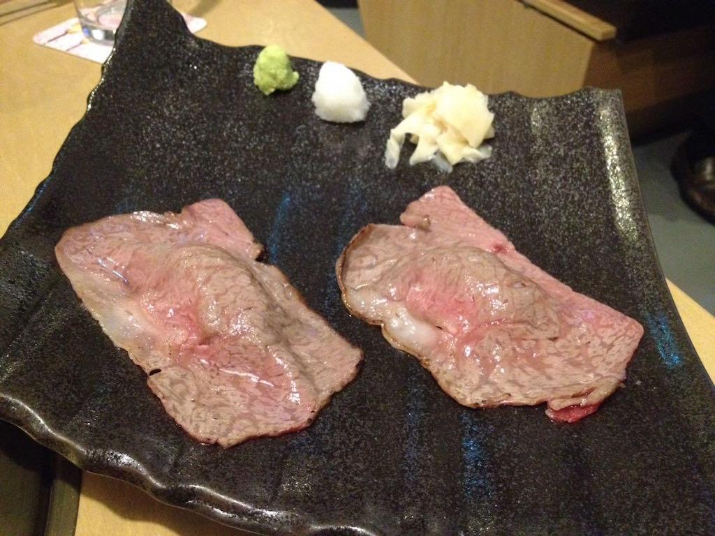 Kobe Rind gegrillt