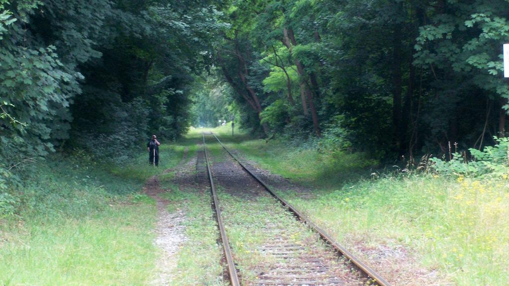 Train Spotter in Krefeld