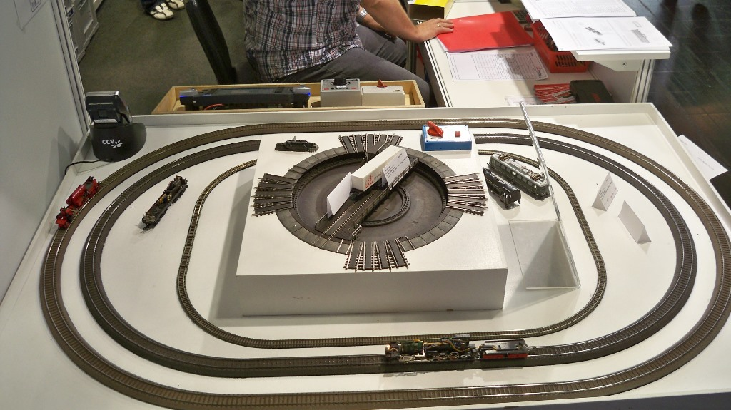 Modelleisenbahn mit Glockenankermotor