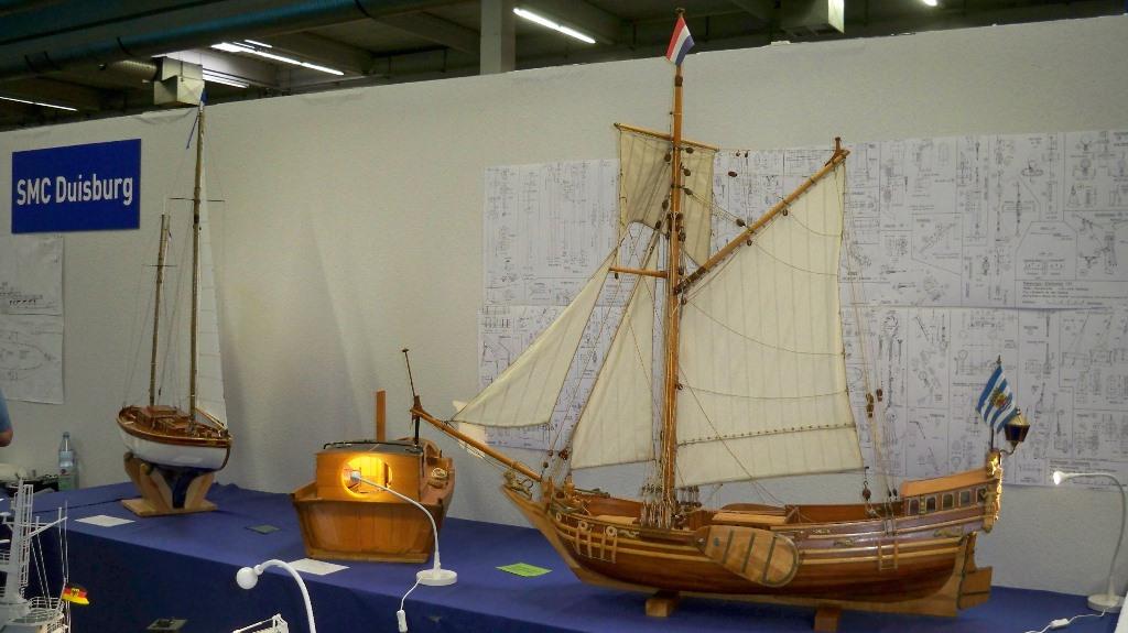 Einmaster der Modellschiffbauer Krefeld