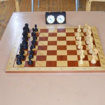 Spieltisch beim LUdwig-Engels-Turnier 2018