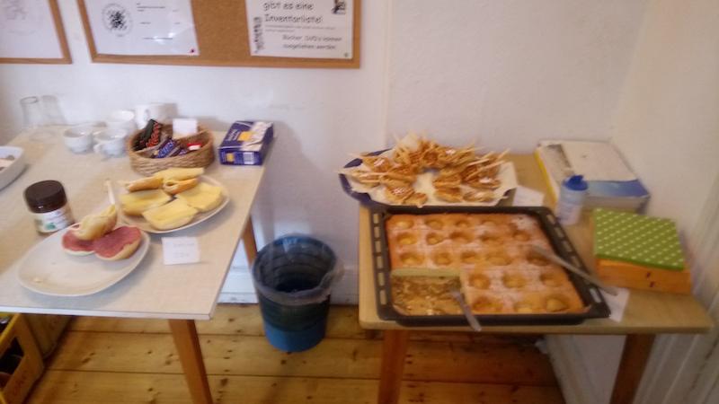Essen und Trinken beim Schachturnier in Wuppertal