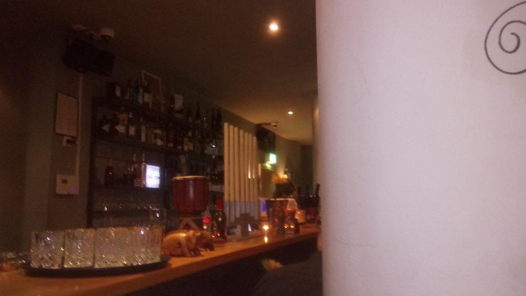 Bar von Restaurant Die Kurve