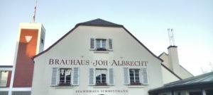 Außenbild Brauhaus Johann Albrecht