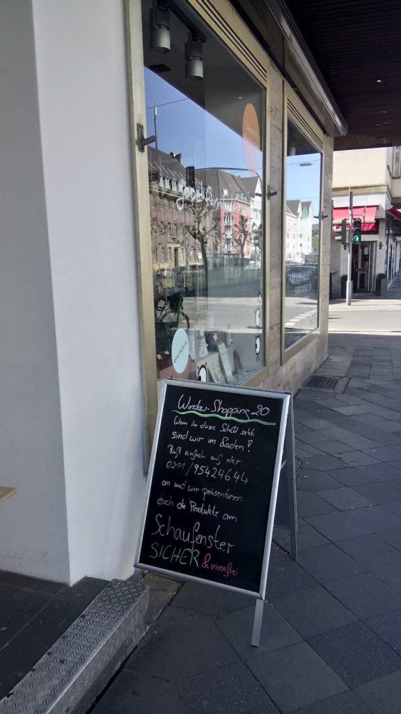 Window Shopping in Zeiten von Covid19